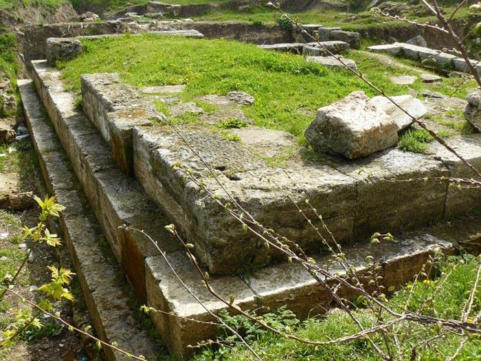 Zidul de apărare al cetăţii Callatis